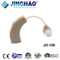 JINGHAO New Hearing Aids Aid CE Certification Ear Care Suitable Two Ears Battery