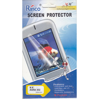 KMS Rinco Screen Protector For Nokia Asha 302 ( 5 PC @150 Only)