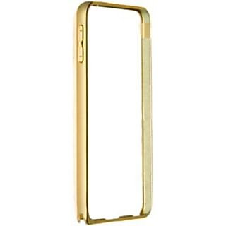 Samsung Galaxy E5 Golden Color Metal Bumper Case Cover