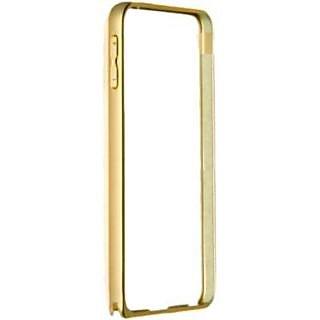 Samsung Galaxy E5 Golden Color Metal Bumper Case Cover
