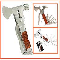 SAI SHOP Hammer 10 In 1 Multiutility Hammer Tool Kit Set