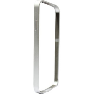 Samsung Galaxy S4 I9500 Silver Color Metal Bumper Case Cover