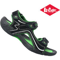 Lee Cooper Men Sandal 4541 Black Green
