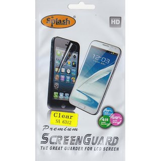 Splash HD Screen Guard For  Samsung Galaxy Young Duos (S6312)