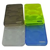 I Phone 5 / 5S Silicone Case / Green Color