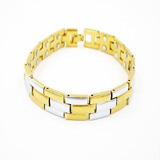 Bracelets Magnetic Bracelet Health Benefit Metallic Anium By Sk