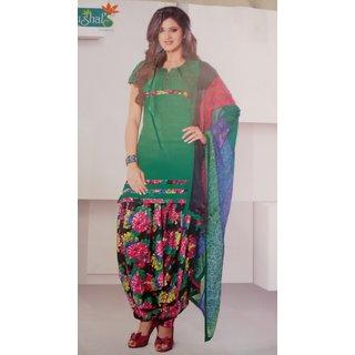 Cotton Dress Patiyala (Unstitched)