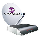 Videocon D2h SD Set Top Box + 2 Months South Silver (South) FREE