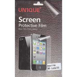 KMS UNIQUE Matte Screen Protective Film For Nokia Lumia-510