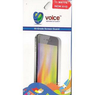KMS VOICE Hi-Grade Matte Screen Guard For Nokia 610