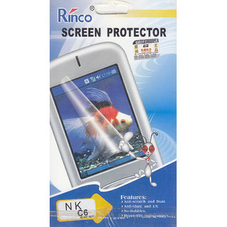 KMS Rinco Screen Protector For Nokia- C6