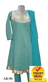 Anarkali Salwar Kammez Suits ( According to your Size ) with Free Clutch Purse