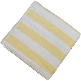 Welhouse India Colored Striped Bath Towel-(62 X 30 Inches).