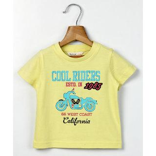 Beebay Bike Print T-Shirt Green