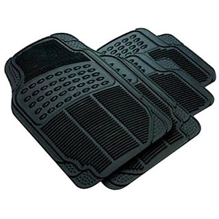Stylobby Car Foot Mat Toyota Etios Liva (Black)