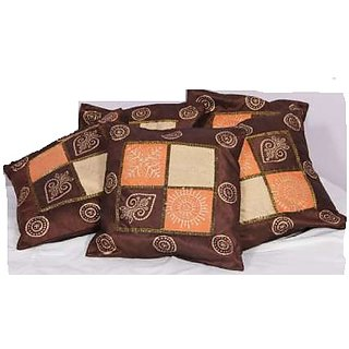 Chess gold cushion Cover set