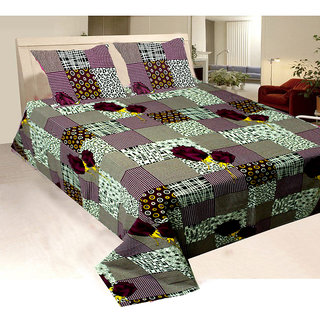 Check out this multi coloured floral bed sheet set that will make a superb gifti