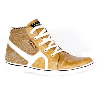 Life Sports Men's Tan Canvas Sneakers