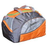 Attache Orange Polyester Duffel Bag