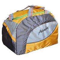 Attache Yellow Polyester Duffel Bag