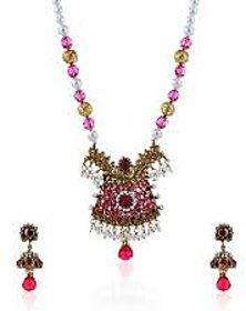 Beautiful Necklace Set Multicolor