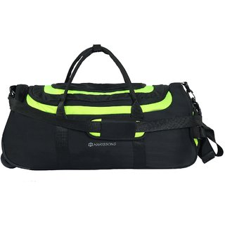 Harissons - Float Wheel Duffel - Green - Duffle/Travel Bag