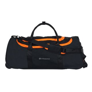 Harissons - Float Wheel Duffel - Orange - Duffle/Travel Bag