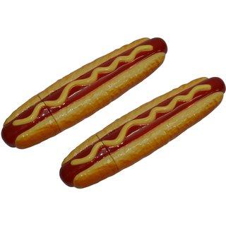 Knott Two Hotdog shape fancy writing pen Combo