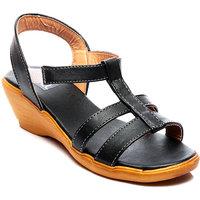 Nell Ladies Black Footwear NK-007-BLACK-02
