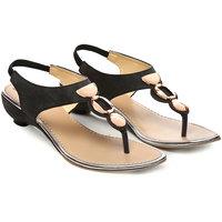 Nell Ladies Black Footwear VK-1007-BLACK-1