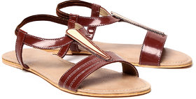 Nell Women's Brown Sandals
