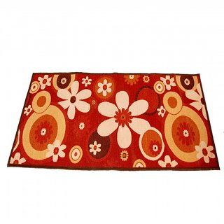 Ritika Carpets Multicolor Cotton Polyester Blend Floor Runner