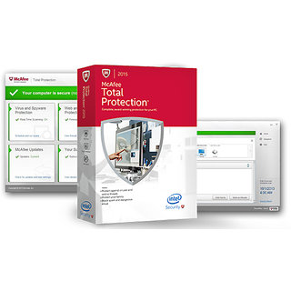 Mcafee Total Protection 1user 3year