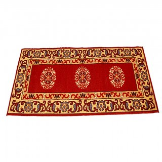 Ritika Carpets Multicolor Cotton Polyester Blend Floor Runner r1218