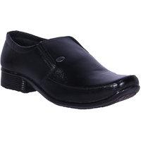 Austrich Black Formal Shoes