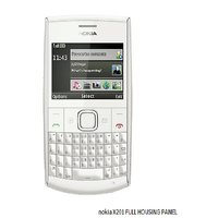 Best Quality Full Body Panel Housing For Nokia X201 White Color