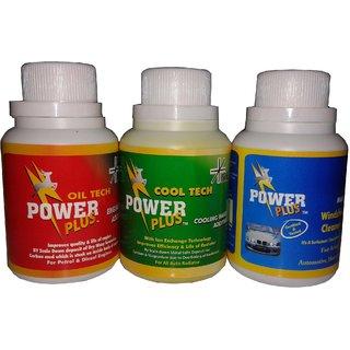 COMBO PACK OF POWERPLUS COOL TECH + OIL TECH+ MAGICLEAN