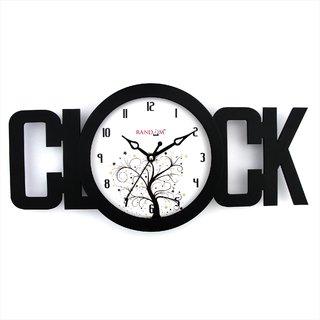 Clock Black Wall Clock