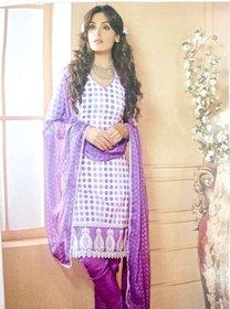 cotton designer salwar khameez (Unstitched)