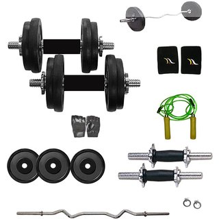 Total Gym 25 Kg Home Gym And Accessories (DREAM1GWR10)