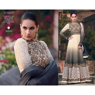 Bollywood style heavy floor length partywear suit pieces