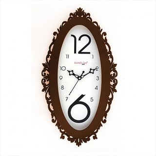 Ovi - Brown Wall Clock