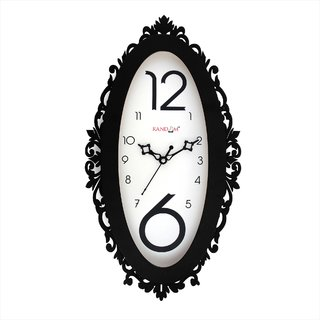 Ovi - Black Wall Clock