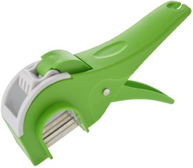 Ankur Plastic Regular Vegetable Cutter Green (No. of Pieces 1)