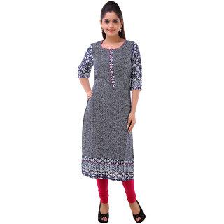 Piya Bawari Women's Casual Earthen Cotton Kurta