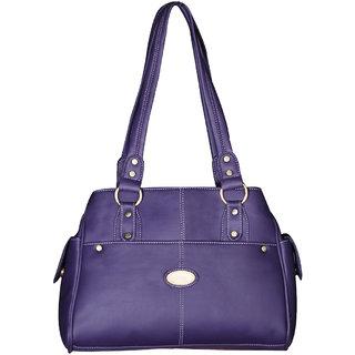 Fostelo Purple Saffiano Handbag FSB-169