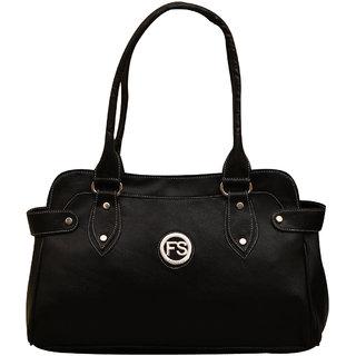 Fostelo Dazzling Black HandbagFSB221