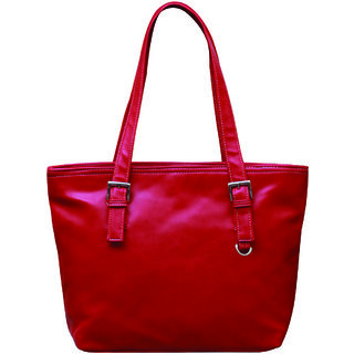 Fostelo Stylish Red HandbagFSB274