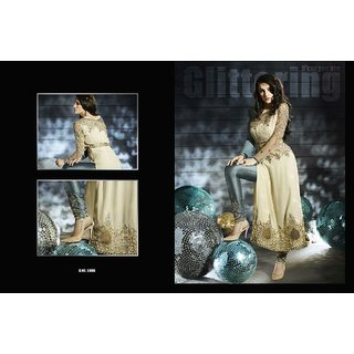 Stylish Beautiful Designer Bollywood Partywear suit piece with embroidered pants