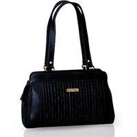 Fostelo Royal Kate Black Handbag FSB-388